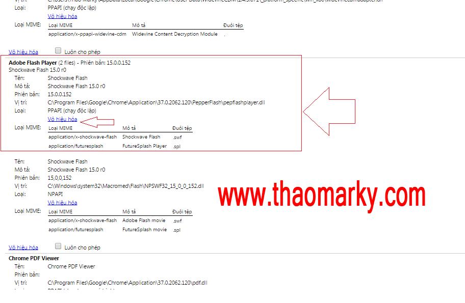 Hướng dẫn xử lí lỗi Shockware Flash has Crashed | Thao Marky's Productions