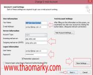 Cấu hình gửi/nhận Mail domain bằng Outlook 4